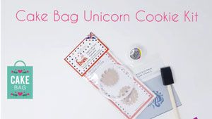 Cake Bag Unicorn Kit