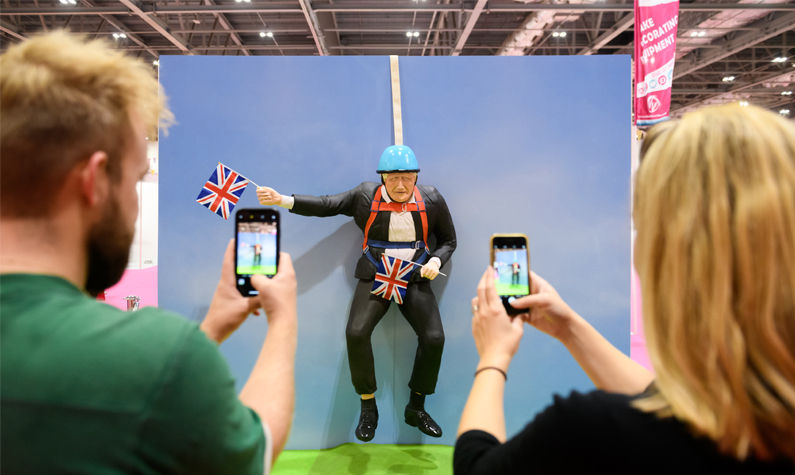 Take a selfie with our impressive cake installations at this year's show