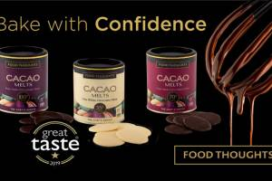 Come along and taste Food Thoughts divinely rich chocolate melts